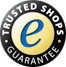 Trusted Shops seal of approval - Click to verify.